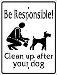 Responsible dog owner