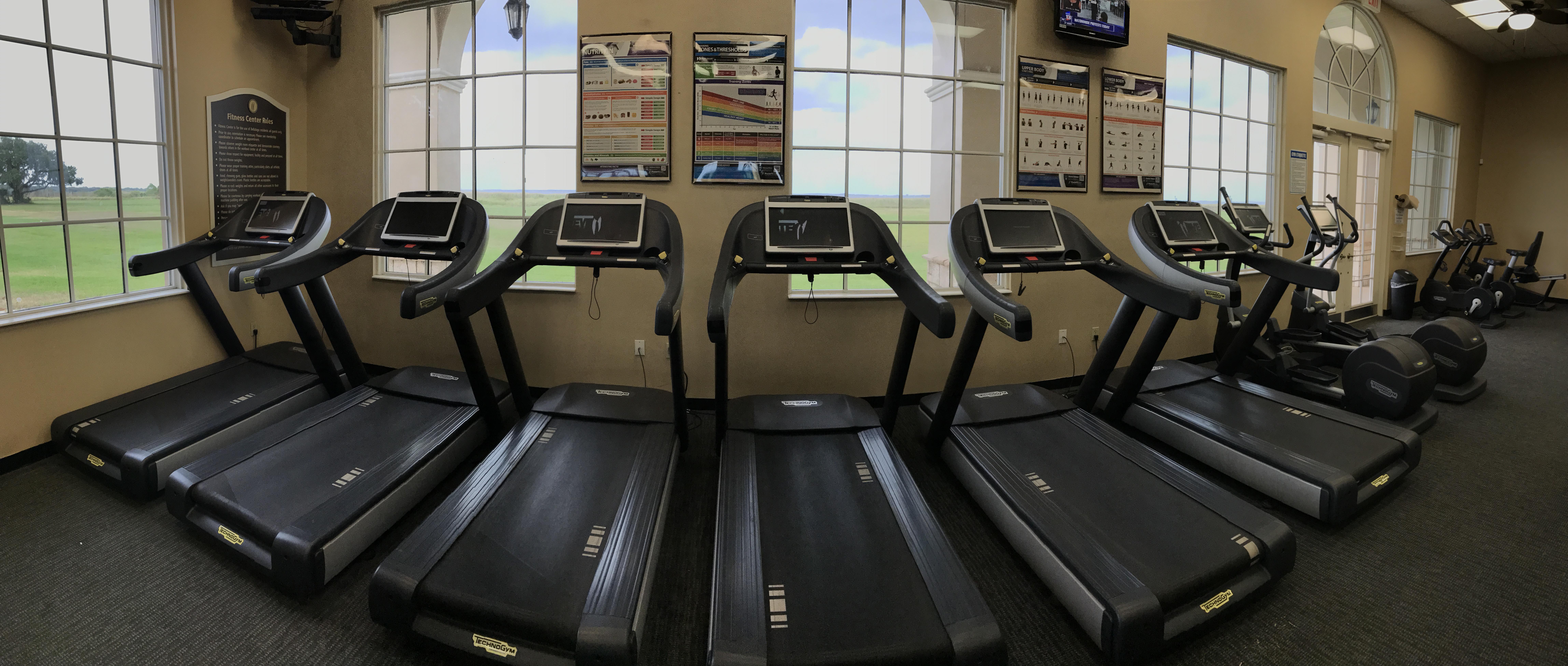 Fitness center bellalago