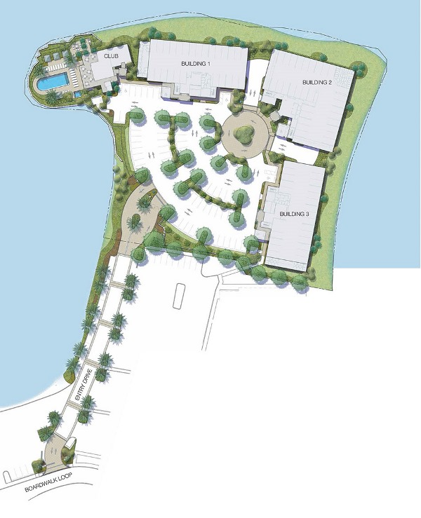 Waterfront at Main Street Site Map