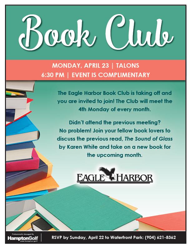 Book Club April 2018