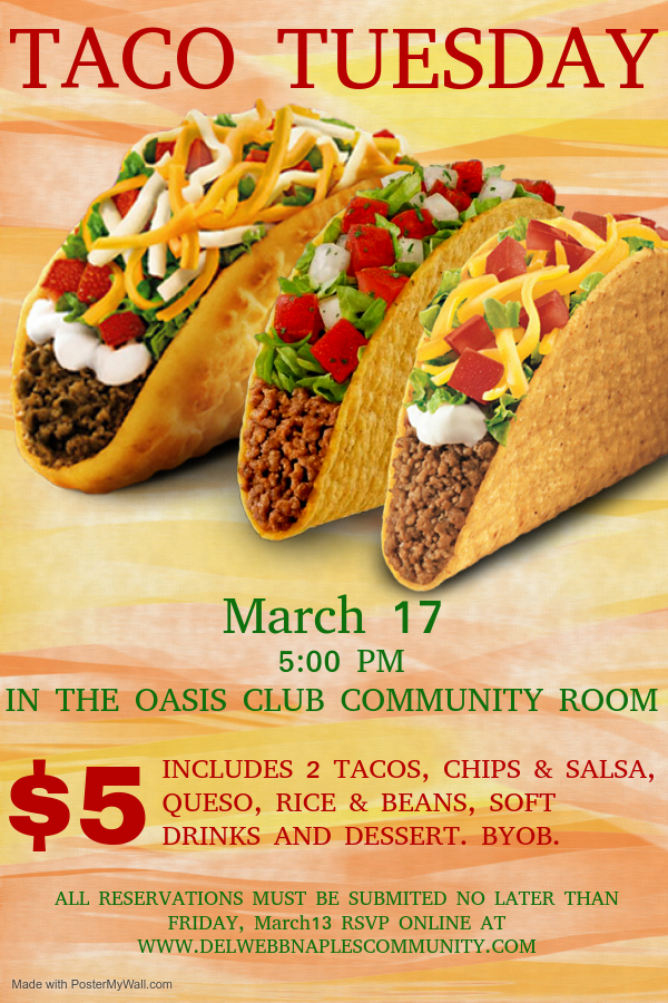 Taco Tuesday March