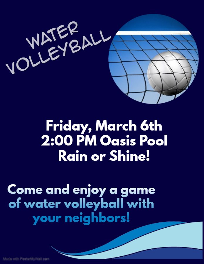 Water Volleyball March